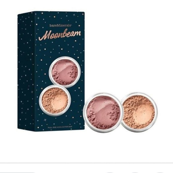 bareMinerals Other - bareMineral Moonbeam Highligter Duo